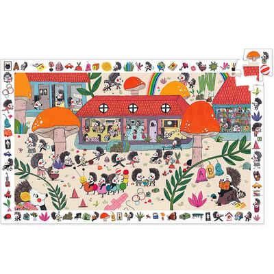 DJECO Puzzle »Wimmelpuzzle Die Igelschule, 35 Teile«, Puzzleteile