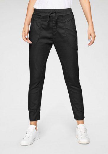 Please Jeans Jogger Pants »P 51G« Cropped-Form mit elastischem Bündchen