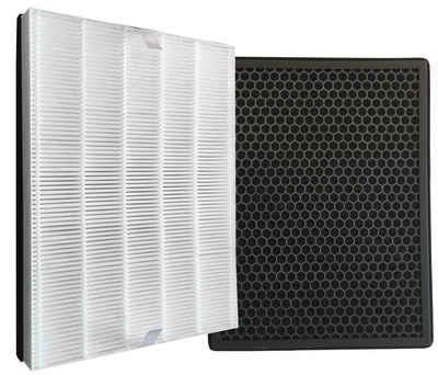 Comedes Filter-Set passend für Philips Luftreiniger AC2889, AC2887, AC2882 und AC3829/10, einsetzbar statt Philips FY2422/30 und FY2420/30, Zubehör für Passend für Philips Luftreiniger AC2889, AC2887, AC2882 und AC3829/10
