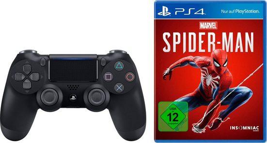 PlayStation 4 »PS4 Dualshock« Wireless-Controller (inkl. Spiderman)