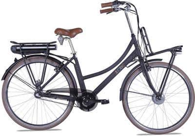 LLobe E-Bike »Rosendaal Lady 13,2 Ah«, 3 Gang, Nabenschaltung, Frontmotor 250 W, Gepäckträger vorne