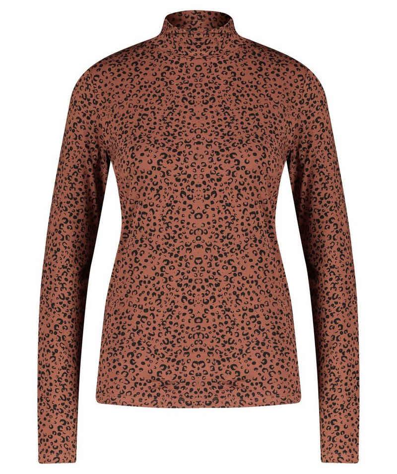 "Vila T-Shirt »Damen Shirt ""Vibulis Funnel Neck"" Langarm«"