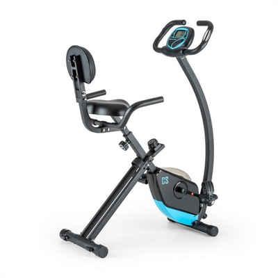 Capital Sports Fahrradtrainer »Trajector X-Bike Fahrrad-Heimtrainer 3 Kg Schwungmasse schwarz« (Trainingscomputer mit LCD-Display)