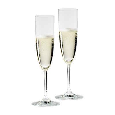 RIEDEL Glas Champagnerglas »VINUM Champagnerglas 2er Set«, Glas