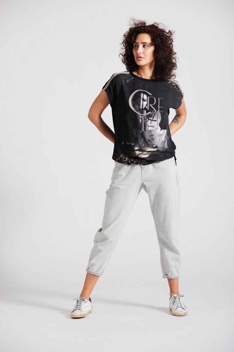 Andijamo-Fashion Blusenshirt »CREATE« aus weicher Viskose