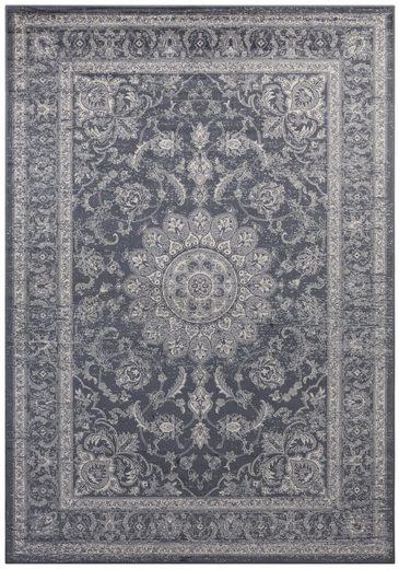 Teppich »Briar«, DELAVITA, rechteckig, Höhe 6 mm, Samt-Teppich in Seiden-Optik, Wohnzimmer