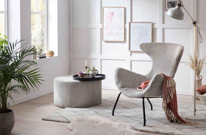 SalesFever Relaxsessel, Ohrensessel in modernem Design
