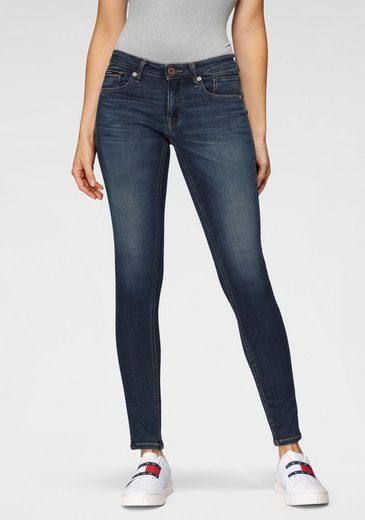 TOMMY JEANS Skinny-fit-Jeans »SCARLETT LR SKNY KDBST« mit Tommy Jeans Logo-Badge & den typischenTommy Streifen