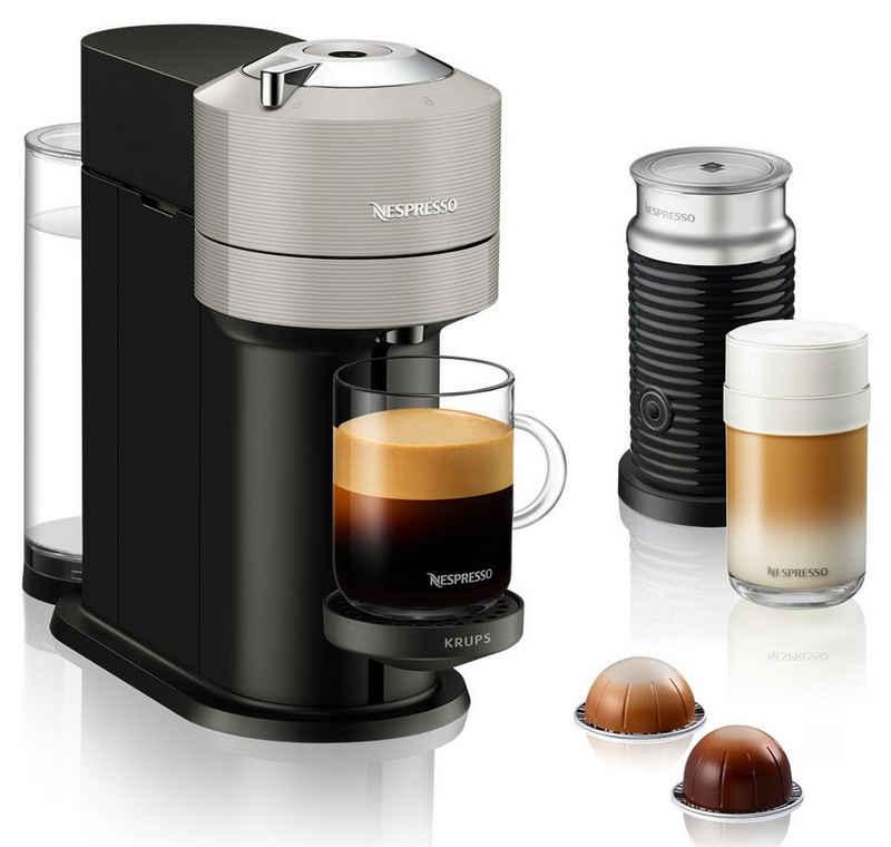 Nespresso Kapselmaschine XN911B Vertuo Next, inkl. Aeroccino 3, neuartiges Kapselsystem, 54% aus recyceltem Material