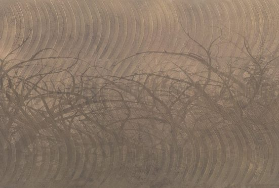 Architects Paper Fototapete »Atelier 47 Thorn hedge 3«, glatt, Farbverlauf, (4 St)