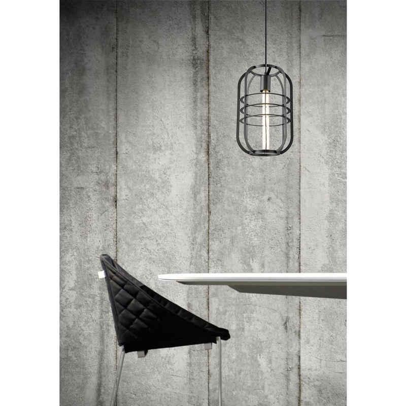 home sweet home Pendelleuchte »Pendelleuchte NERO 1fach - E27 - schwarz 40cm - Industrie-Design«