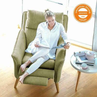 PLACE TO BE. Relaxsessel »Fernsehsessel mit Schlaffunktion und mehreren Liegepositionen«, Fernsehsessel mit Schlaffunktion und mehreren Liegepositionen