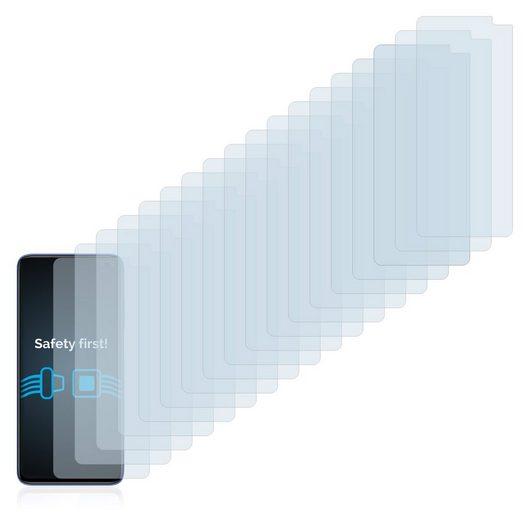Savvies Schutzfolie »für Xiaomi Redmi K30 5G«, (18 Stück), Folie Schutzfolie klar