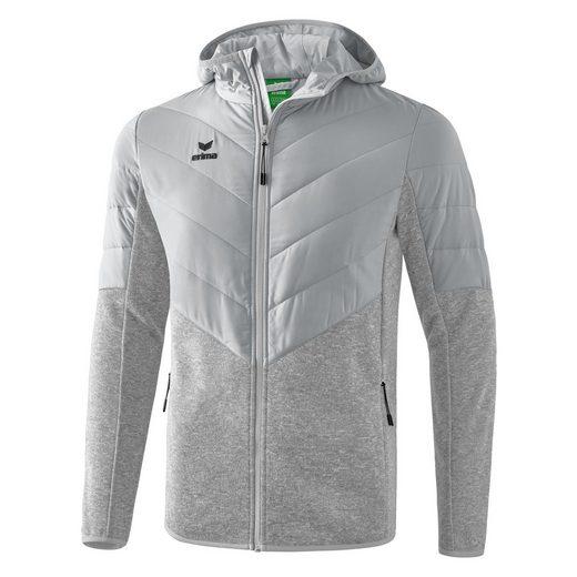 Erima Funktionsjacke »Padded Fleece Hooded Jacket«