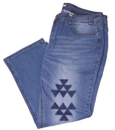 Joe Browns Regular-fit-Jeans »Joe Browns Schlag-Jeans klassisch moderne Damen Stretch-Jeans Freizeit-Hose Blau«