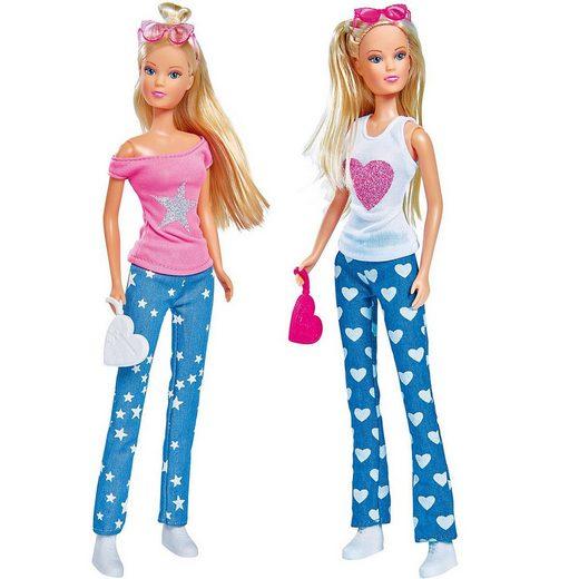 SIMBA Anziehpuppe »Steffi LOVE Jeans Fashion, 2-sort.«