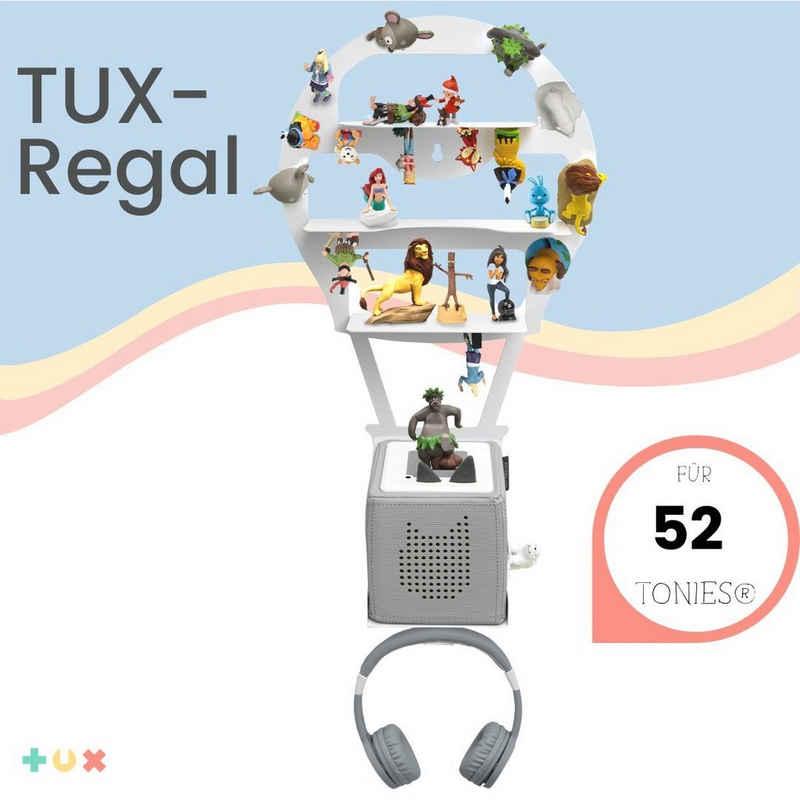 """TUX Wandregal »TUX-Regal passend für Toniebox für über 52 Tonies """"Luftballon"""" - Überall magnetisch beliebig fixierbar«"""