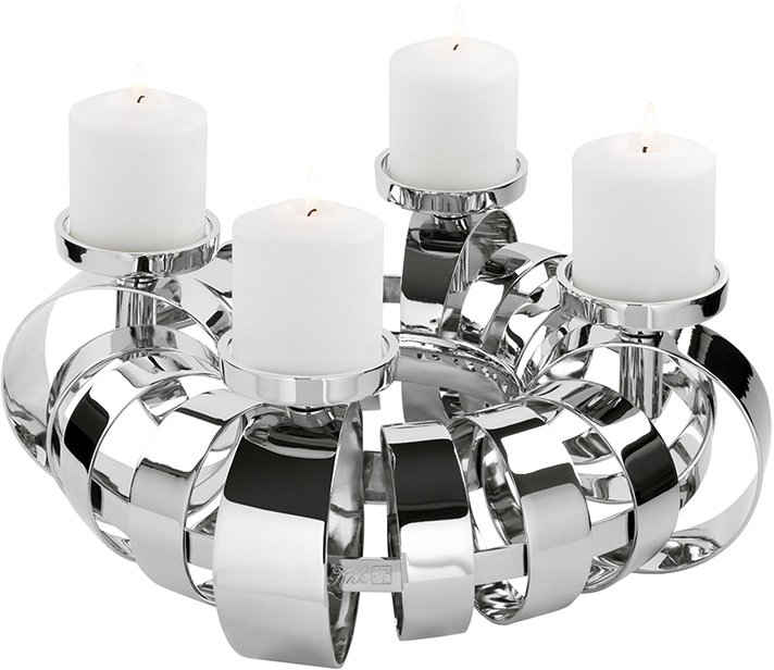Fink Kerzenhalter »ANELLO« (1 Stück), 4-flammig, Adventsleuchter