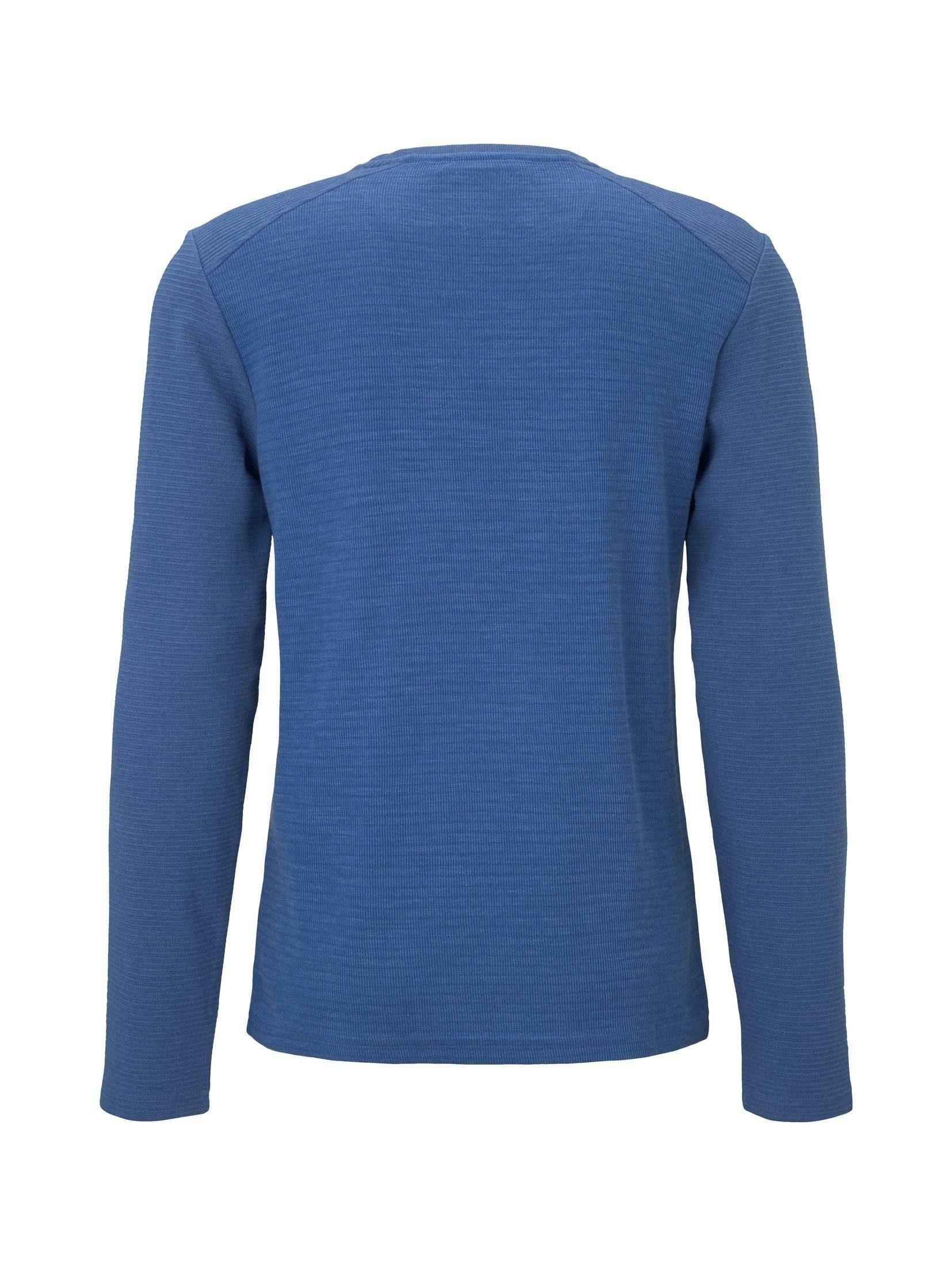 TOM TAILOR Sweatshirt Sweatshirt mit Brusttasche