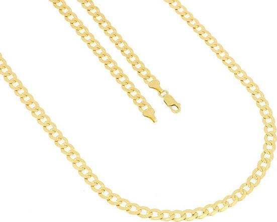 Firetti Goldkette »Panzerkette, 6-fach diamantiert, flach«