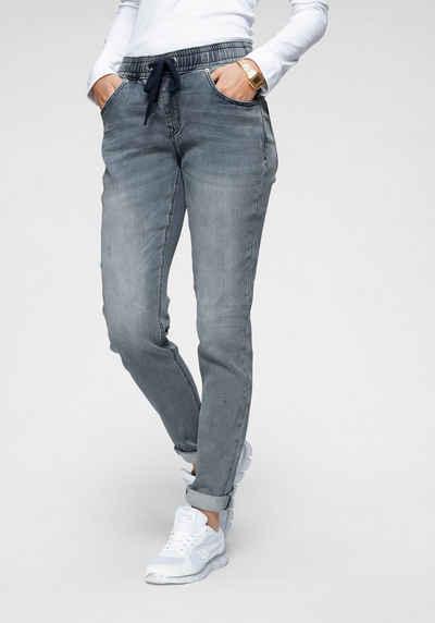 KangaROOS Jogg Pants in Denim-Optik mit elastischem Bündchen