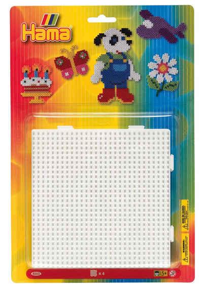 Hama Bügelperlen »Stiftplatten Quadrat«, 4 Stück