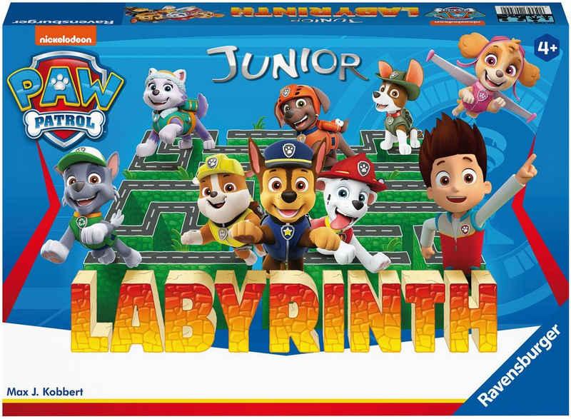 Ravensburger Spiel, Strategiespiel »Paw Patrol Junior Labyrinth«, FSC® - schützt Wald - weltweit; Made in Europe