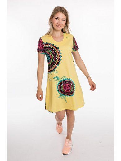 DEPROC Active Jerseykleid »JOANA NEW SUMMER DRESS« Modischer Allover Print