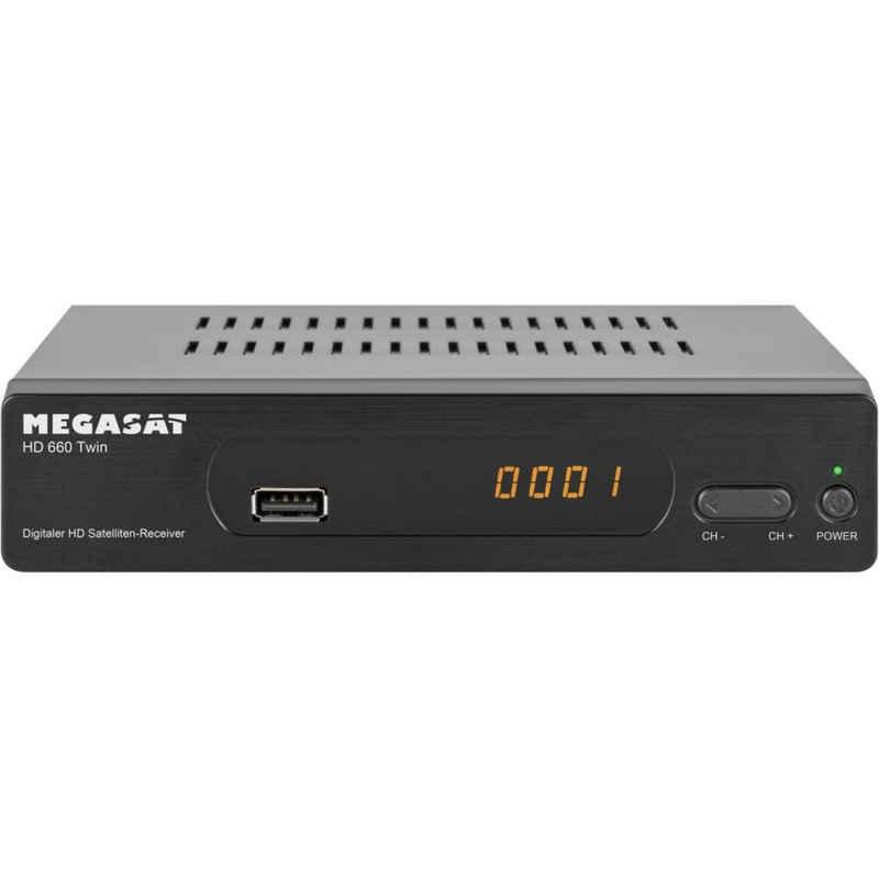 Megasat »HD 660 Twin PVR HDTV - Receiver - schwarz« SAT-Receiver