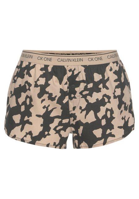 Hosen - Calvin Klein Pyjamashorts mit Camouflage Muster ›  - Onlineshop OTTO