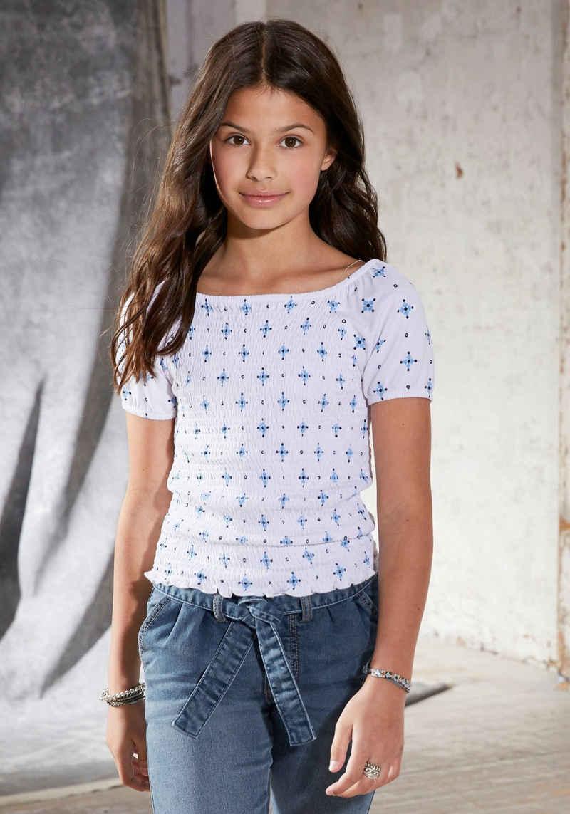 Arizona T-Shirt figurbetonte kurze Form