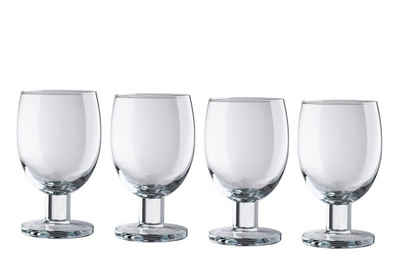 JAMIE OLIVER Weinglas »Jamie Oliver Weingläser Everyday 350ml 4-teilig«, Glas