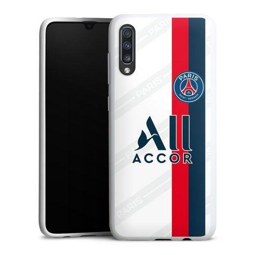 DeinDesign Handyhülle »Third Jersey PSG 2019/20« Samsung Galaxy A70, Hülle Paris Saint-Germain Trikot PSG