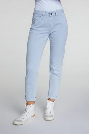 Oui Relax-fit-Jeans »Chinohose in Regular Fit« Ohne Details