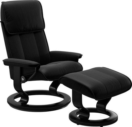 Stressless® Relaxsessel »Admiral«, mit Classic Base, Größe M & L, Gestell Schwarz