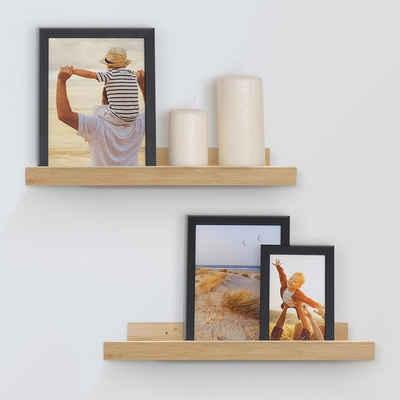 PHOTOLINI Bilderrahmen »2er Set Bilderleiste inkl. Montagematerial Bilderboard«