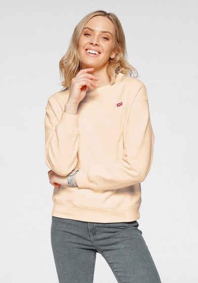 Levi's® Sweatshirt »Standard Crew« mit kleinem Batwing -Logo