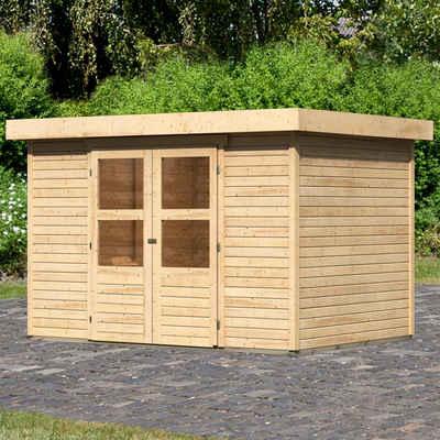 KONIFERA Gartenhaus »Engelsee 4«, BxT: 330x238 cm