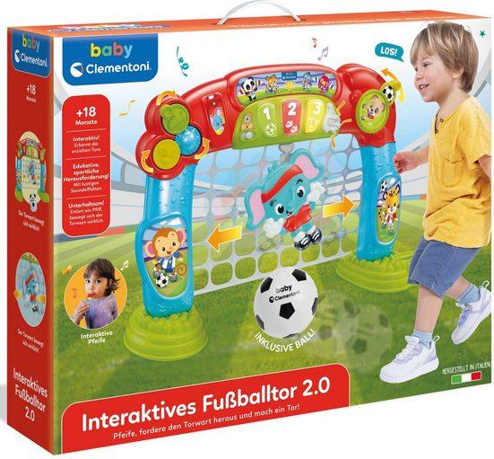 Clementoni® Lernspielzeug »Baby Clementoni - Interaktives Fußballtor«, Made in Europe, FSC® - schützt Wald - weltweit