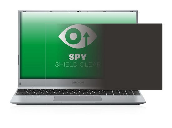 upscreen Schutzfolie »für Medion Akoya E15407«, Folie Schutzfolie Sichtschutz klar anti-spy
