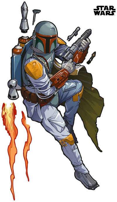 Komar Vliestapete »Star Wars XXL Boba Fett«, glatt, bedruckt, Comic, Retro, (1 St), 127 x 200 cm (Breite x Höhe)