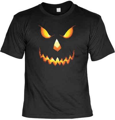 Goodman Design Print-Shirt »Halloween T-Shirt Kürbiskopf Pumpkin« Horror Faschings Kostüm