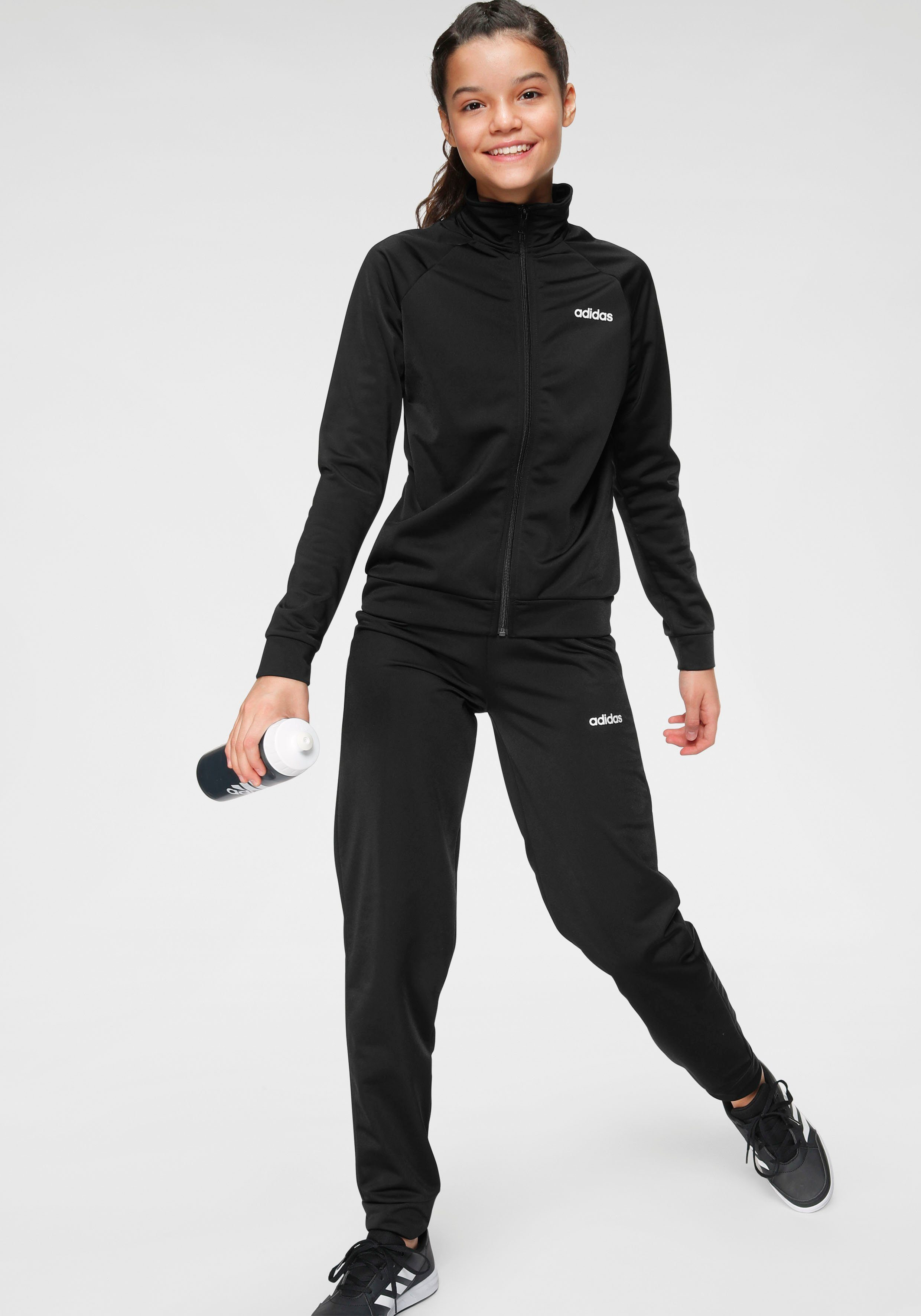 adidas Performance Trainingsanzug »GIRLS TRACKSUIT« (Set, 2