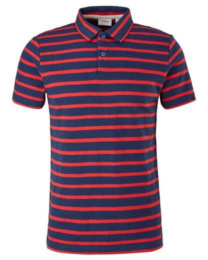 s.Oliver T-Shirt »Herren Poloshirt«