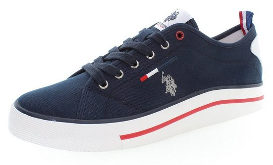 U.S. Polo Assn »WAVE« Sneaker mit farbigem Besatz an der Sohle