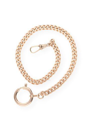 JuwelmaLux Goldkette »Taschenuhrkette Flachpanzer rosévergoldet«
