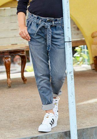 Arizona Stretch-Jeans (Set su Bindegürtel) in ...
