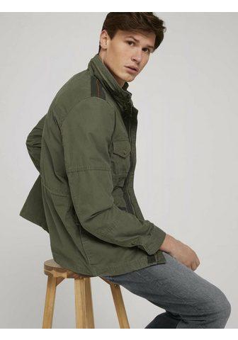 TOM TAILOR Fieldjacket »Feldjacke su Stehkragen«