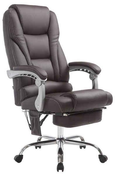 CLP Schreibtischstuhl »Pacific mit Massagefunktion V2 Kunstleder«, höhenverstellbar und drehbar
