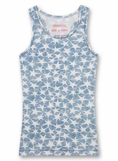 Sanetta Unterhemd »Mädchen Shirt, Unterhemd o. Arm, Tanktop, Sterne«